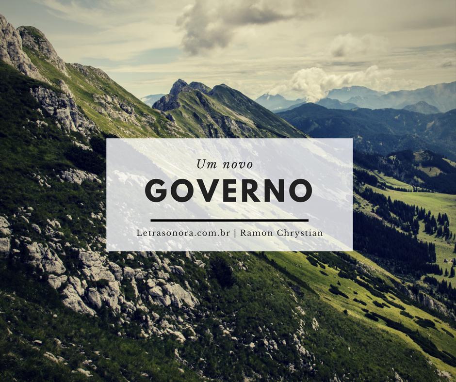 Um novo governo
